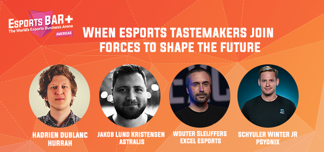 Esports BAR+ Americas session with Astralis, Excel Esports, Psyonix, Hurrah - Topic Audience